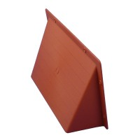 "Rytons Air Brick Cowl 9"" x 6"" Surface Mounted Vent Cover - Terracotta"