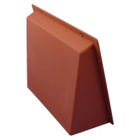 "Rytons Air Brick Cowl 9"" x 9"" Surface Mounted Vent Cover - Terracotta"