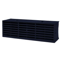 "Rytons Multifix Interlocking Air Brick 9"" x 3"" - Blue Black"