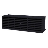 "Rytons Multifix Interlocking Air Brick 9"" x 3"" - Black"