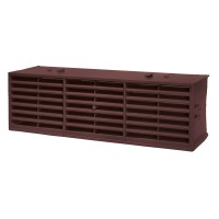 "Rytons Multifix Interlocking Air Brick 9"" x 3"" - Brown"