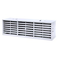 "Rytons Multifix Interlocking Air Brick 9"" x 3"" - White"
