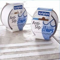 Sylglas Anti Slip Tape Bathroom and Shower Strips Clear