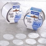 Sylglas Anti Slip Tape Bathroom and Shower Discs Clear