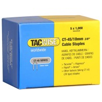 Tacwise CT-45 Cable Staples 10mm - 5000 Pack