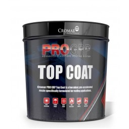 Cromar PRO GRP Fire Retardant Top Coat Dark Grey