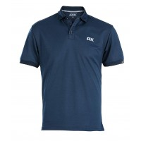 OX Workwear Tech Polo Shirt Blue Extra Large
