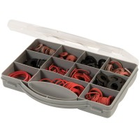 Fixman Assorted Fibre and Rubber Washer Pack - 280 Piece
