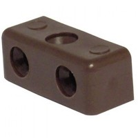 Modesty Connector Blocks Brown - 100 Pack