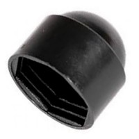 Bolt and Nut Protection Cover Cap Black M10 - 100 Pack