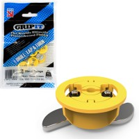 GripIt Plasterboard Fixings 4mm x 25mm Yellow 8 Pack