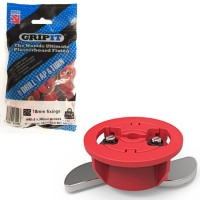 GripIt Plasterboard Fixings 5mm x 30mm Red 25 Pack