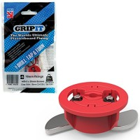 GripIt Plasterboard Fixings 5mm x 30mm Red 4 Pack