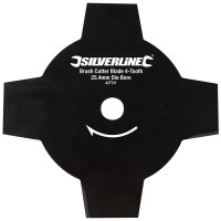 Silverline Brush Cutter Blade Head 4 Tooth