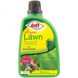 Doff All Year Grass Lawn Feed Concentrate 1 Litre