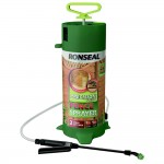 Ronseal Hand Pump Fence Pressure Sprayer 5 Litre Capacity