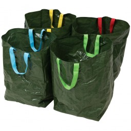 Silverline Polyethylene Recycling Bags 4 Pack Colour Coded Handles