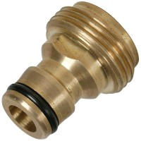 Silverline Brass Internal Connector