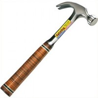 Estwing Leather Curved Claw Nail Hammer - 16oz