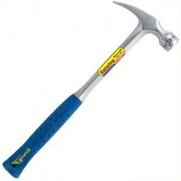 Estwing E3/22CR Curved Claw Framing Hammer 22oz Vinyl Grip Smooth Face
