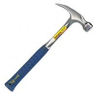 Estwing Straight Claw Framing Hammer 24oz Vinyl Grip Smooth Face