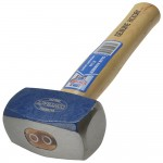 Faithfull Hickory Shaft Handle Club Lump Hammer 2 1/2lb