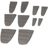 Silverline Hammer Wedge Set - 10 Piece