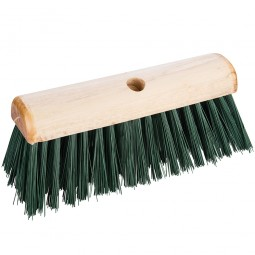 Silverline Broom PVC Saddleback Raised Centre Outdoor Use 330mm