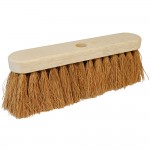 Silverline Broom Soft Coco Indoor or Outdoor Use 304mm