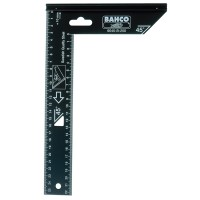 Bahco 9045-B-200 Woodworking Steel Square 200mm - 8in