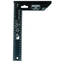 Bahco 9045-B-400 Woodworking Steel Square 400mm - 16in