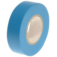 Faithfull PVC Electrical Insulation Tape Blue 19mm x 20m