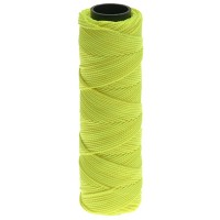 Marshalltown Brick Line Braided Fluorescent Yellow - 75 Metre