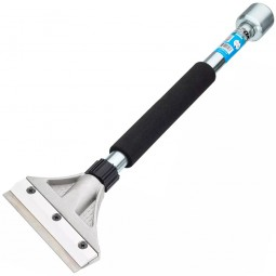 "OX Pro Heavy Duty Scraper with 18"" handle and Hammer End"