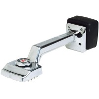 Roberts Fully Adjustable Deluxe Carpet Knee Kicker Silver Finish