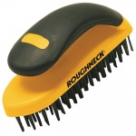 Roughneck Hand Block Wire Brush With Handle