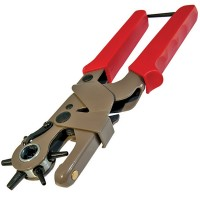 Silverline Leather Heavy Duty Revolving Punch Hole Pliers
