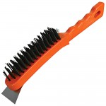 Silverline Wire Brush 5 Row With Scraper 280mm
