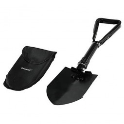 Silverline Compact Folding Shovel With Case