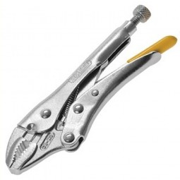 Stanley Locking Mole Grip Pliers Curved Jaw 7in / 175mm