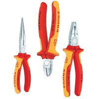 Knipex VDE Safety Plier Pack - 3 Piece