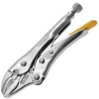 Stanley Locking Mole Grip Pliers Curved Jaw 9in / 225mm
