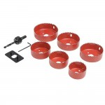 Silverline Downlight Installers Holesaw Kit - 9 Piece