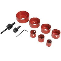 Silverline Holesaw Kit 21mm - 64mm - 10 Piece