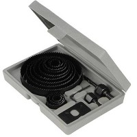 Silverline Holesaw Kit 19mm - 127mm - 16 Piece