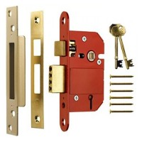 Era Fortress 3in British Standard Sash Lock - Brass