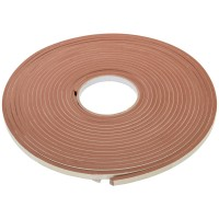 Fixman Self Adhesive EVA Foam Gap Seal Brown 10.5mm