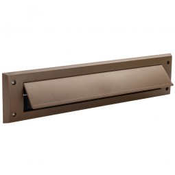 Fixman Letterbox Draught Seal with Flap 338mm x 78mm