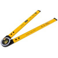 Blue Spot Multi Angle Ruler Protractor Spirit Level 24""
