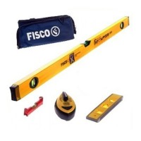 Fisco Big X Builders Levels and Measuring Pack